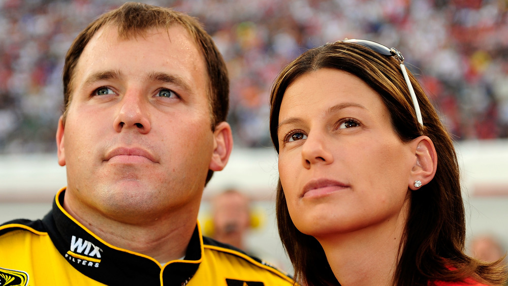 Ryan y Krissie Newman en NASCAR