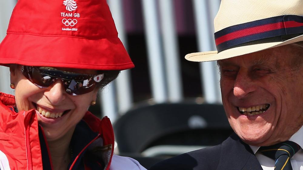 Juegos Olímpicos Príncipe Ana y Príncipe Felipe 2012
