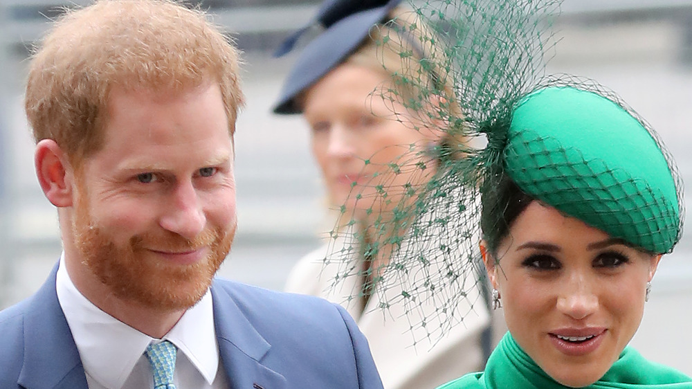 El príncipe Harry y Meghan Markle en el evento