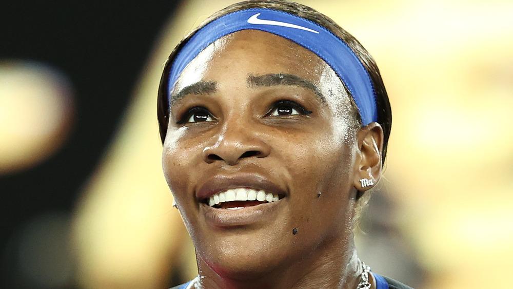 Serena Williams en la alfombra roja