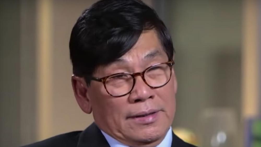 Dr. David Dao en una entrevista