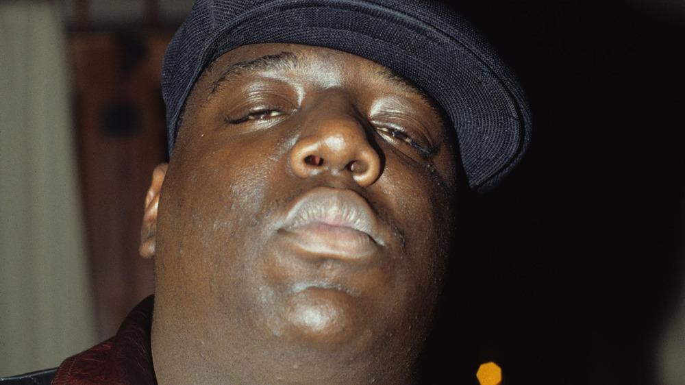 Un retrato de Biggie Smalls de Nueva York 1994