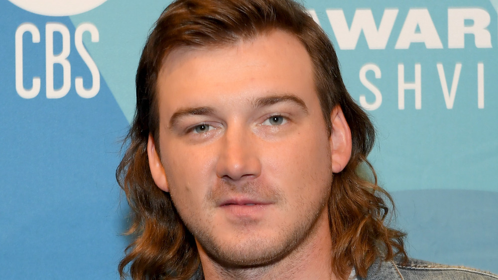 Morgan Wallen posando