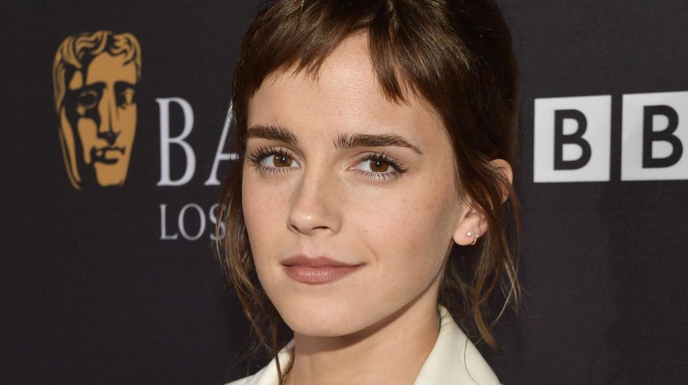 Emma Watson en un evento
