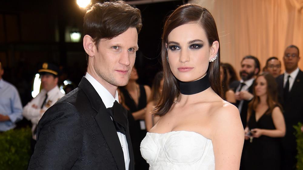 Lily James y Matt Smith