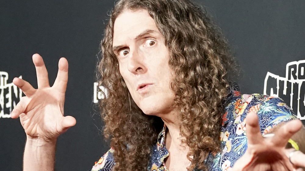 """Weird Al"" Yankovic en un evento"