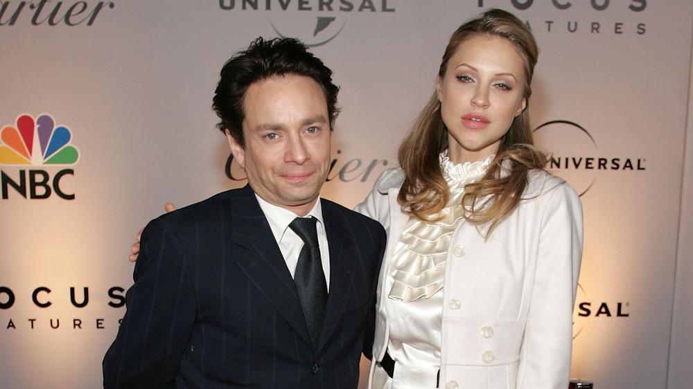 Chris Kattan y Sunshine Tutt lucen un poco infelices juntos