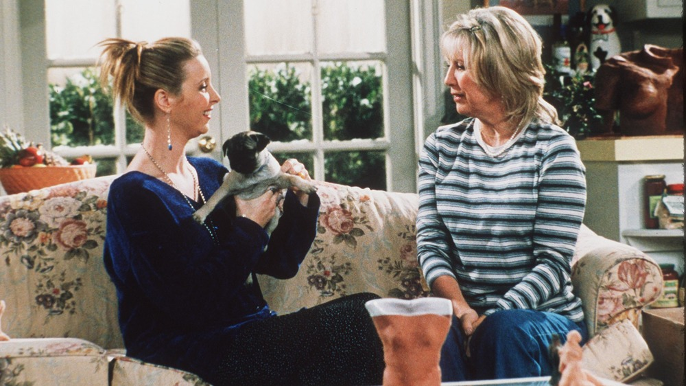 Lisa Kudrow y Teri Garr sobre Friends