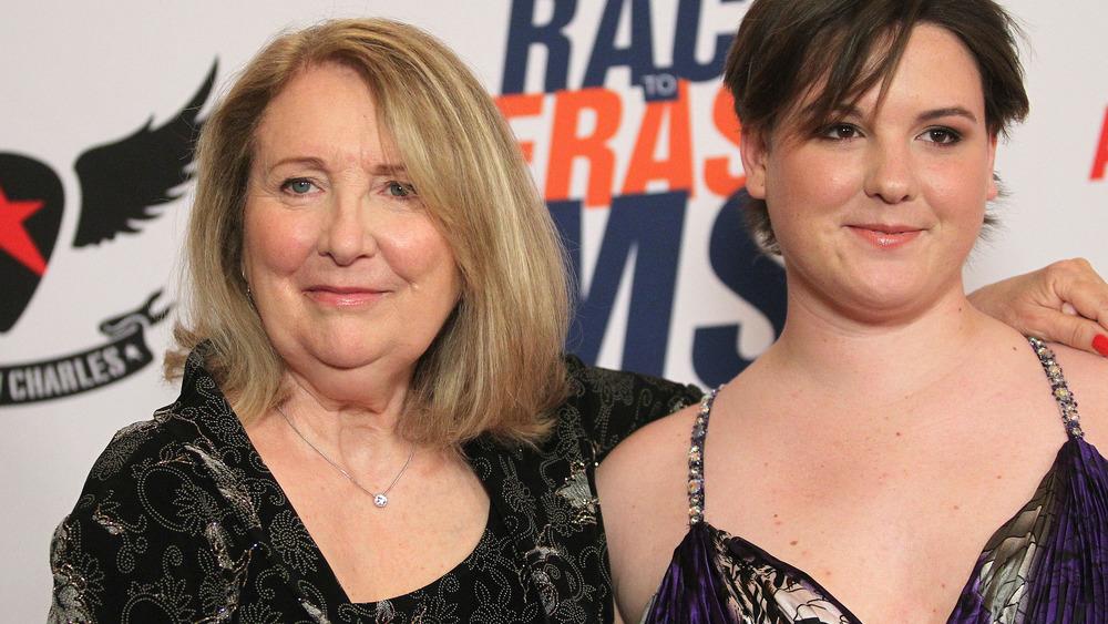 Teri Garr y su hija Molly O'Neill