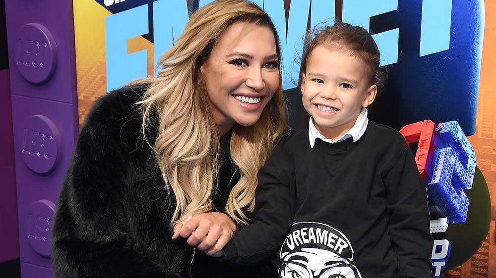 Naya Rivera y su hijo Josey Hollis Dorsey