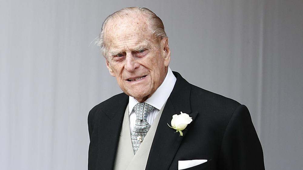 Príncipe Felipe en traje