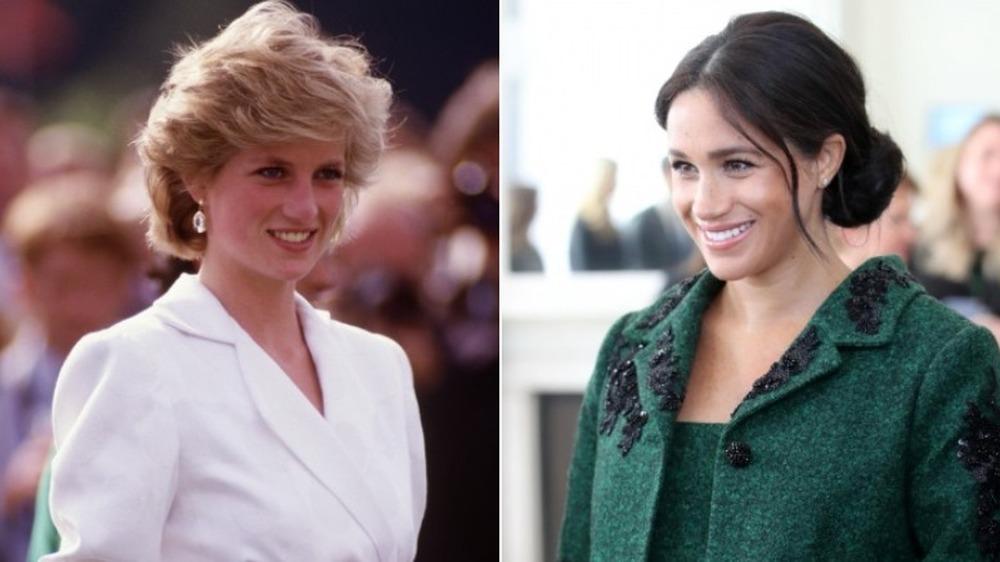 Princesa Diana y Meghan Markle