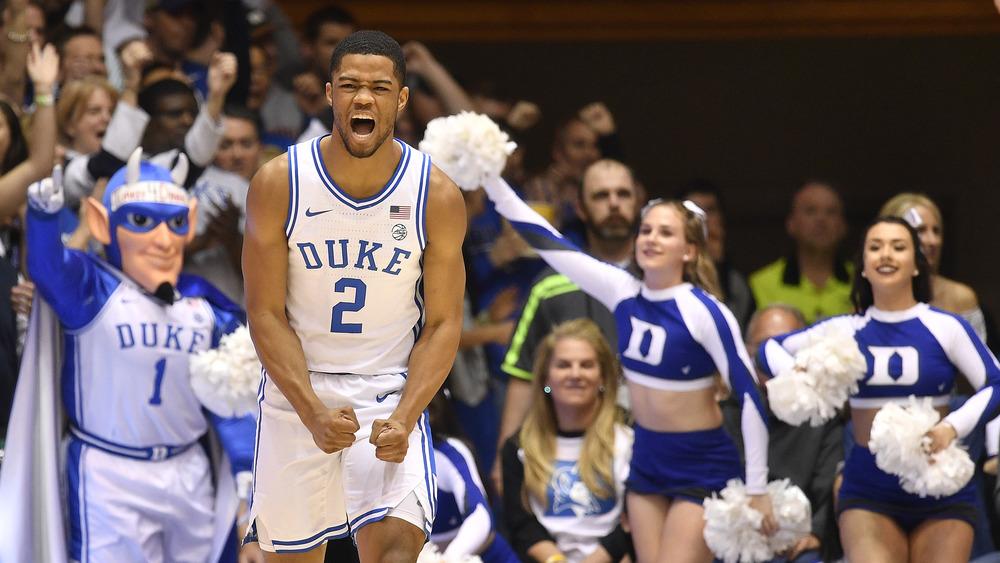 Cassius Stanley en la cancha de la NBA
