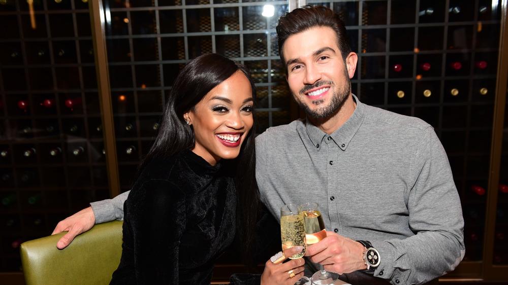 Rachel Lindsay celebra con Bryan Abasolo