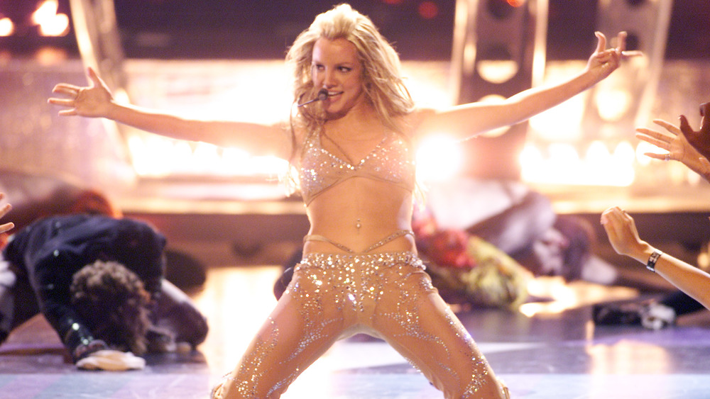 Britney Spears en el escenario