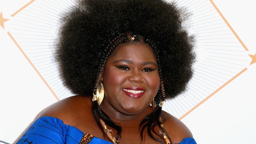Gabourey Sidibe sonriendo