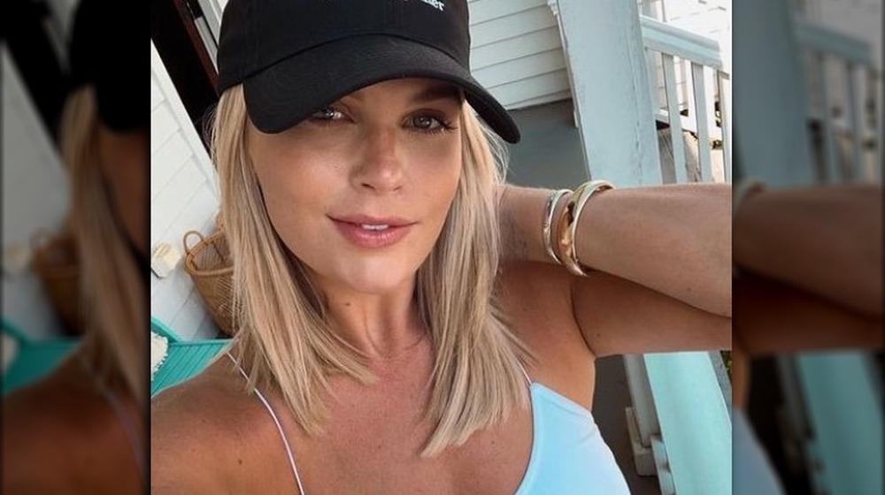 Madison LeCroy posa para una selfie en Instagram, 20 de abril de 2020