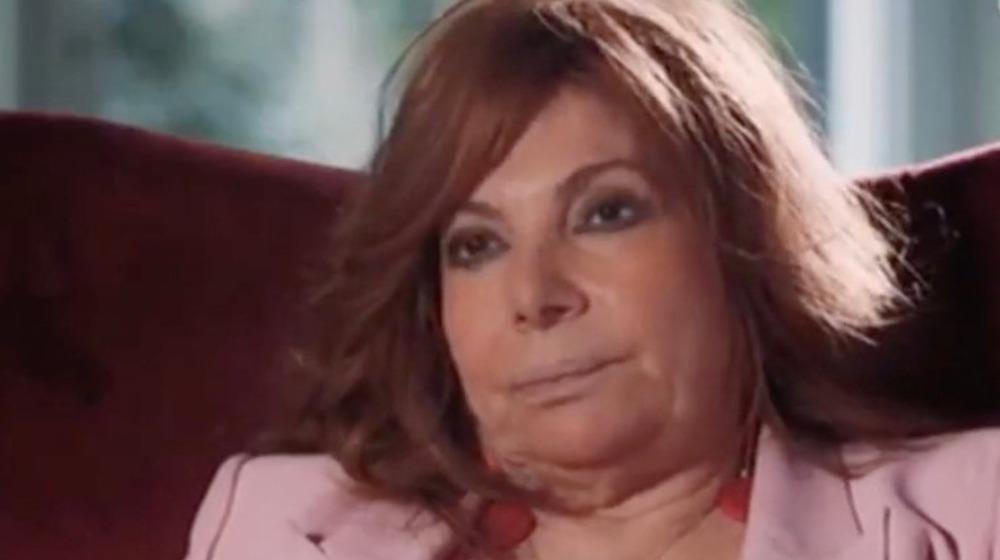 Patrizia Reggiani durante la entrevista