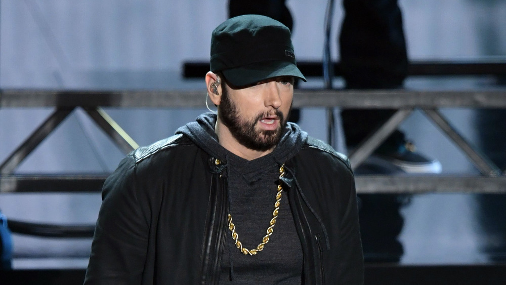 Eminem en el escenario