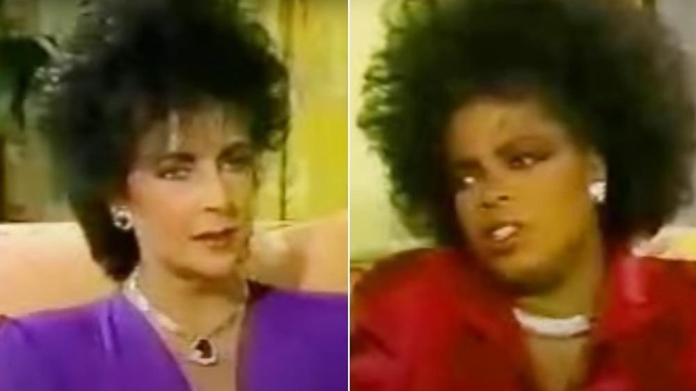 Elizabeth Taylor en el programa de Oprah Winfrey