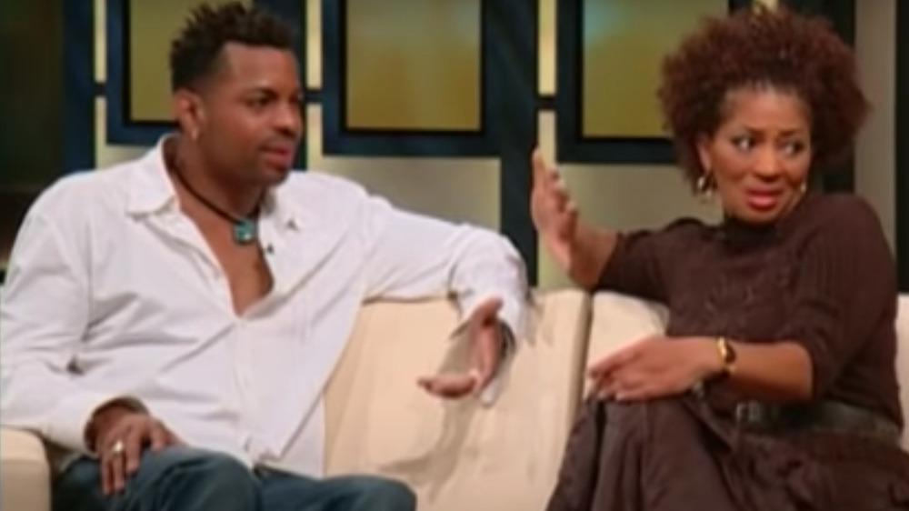Jonathan Plummer y Terry McMillan en el programa de Oprah Winfrey