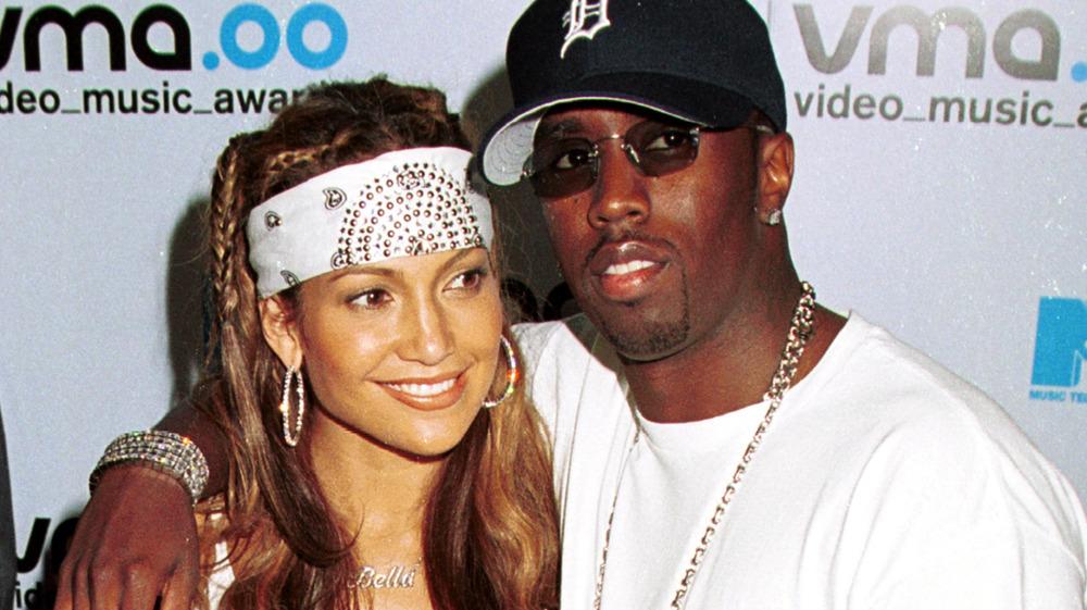 Sean Combs y Jennifer Lopez