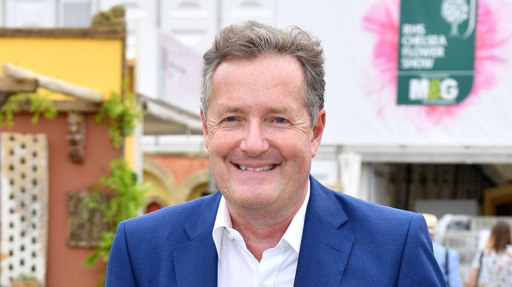 Piers Morgan asistiendo a un evento