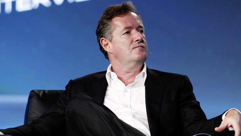 Piers Morgan en el escenario