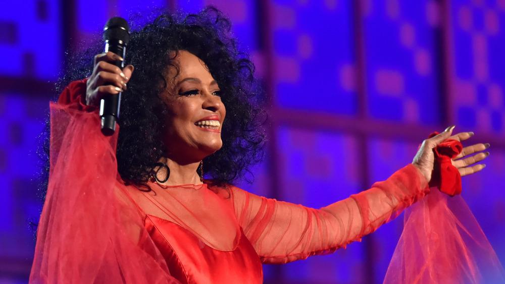 Diana Ross en los Grammy