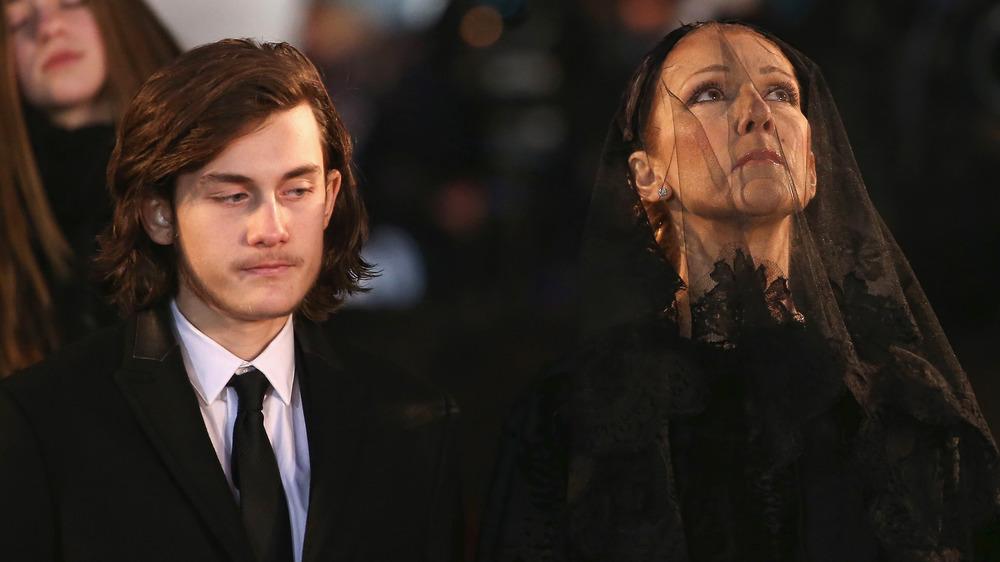 Celine Dion y René-Charles Angélil asistieron al funeral de René Angélil