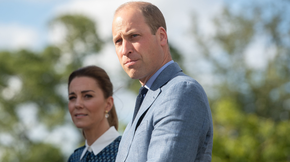 El príncipe William y Kate Middleton en un evento