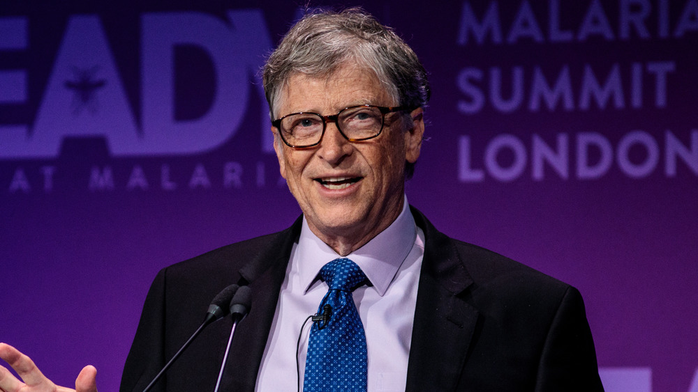 Bill Gates hablando en Londres