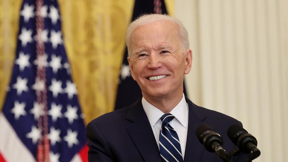 El presidente Joe Biden en su primera conferencia de prensa
