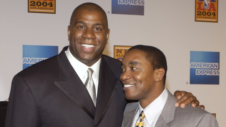 Magic Johnson Isiah Thomas