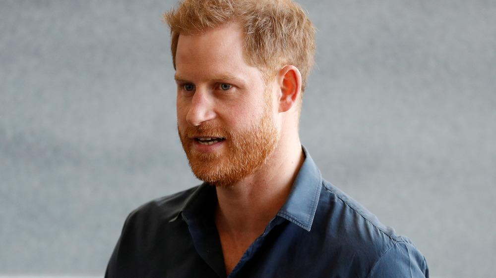 Príncipe Harry en el evento
