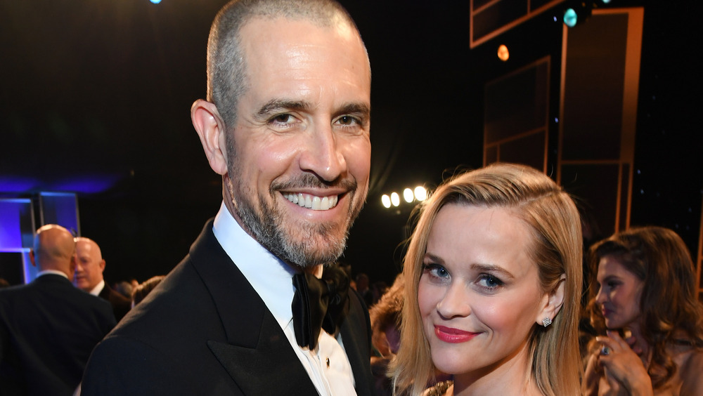 Reese Witherspoon con su esposo Jim Toth