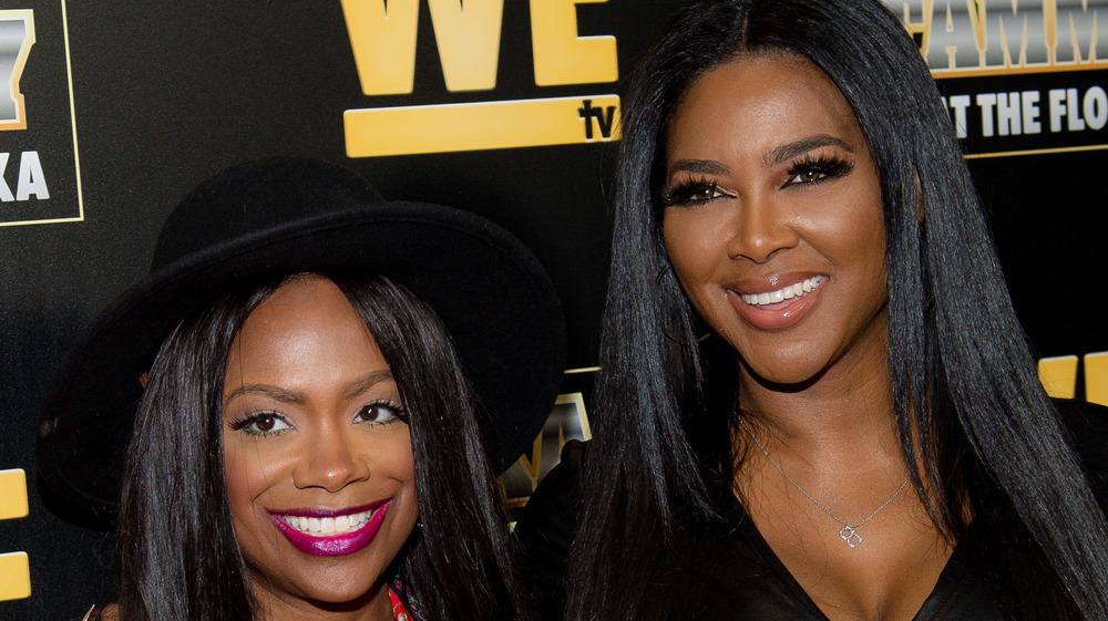 Kandi Burress y Kenya Moore, WE TV, alfombra roja de RHOA