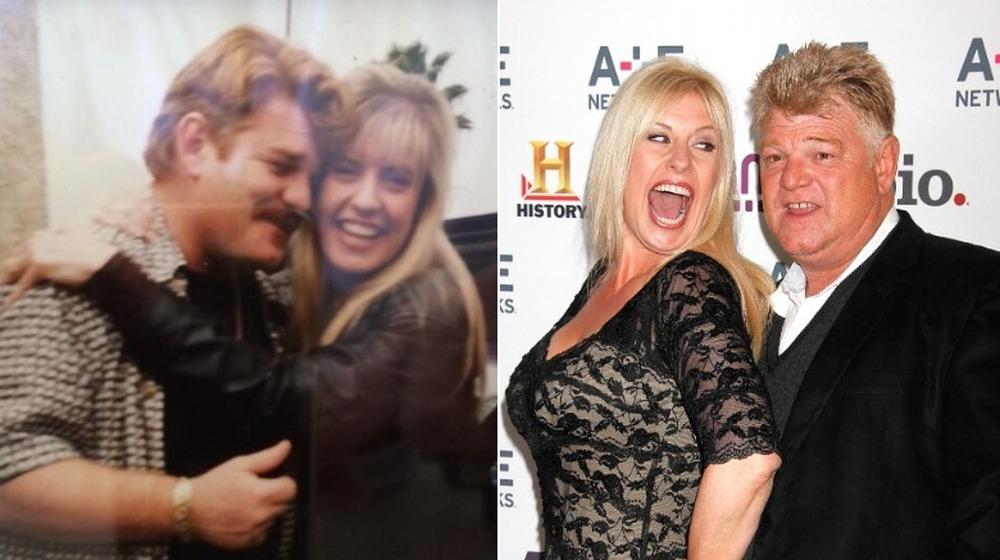 Dan y Laura Dotson antes y después de la separación