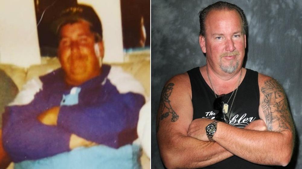 Darrell Sheets antes y después de la división
