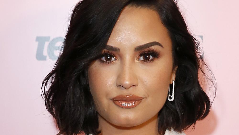 Demi Lovato, alfombra roja de Teen Vogue