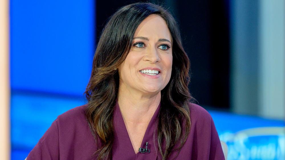 Stephanie Grisham durante una aparición en televisión