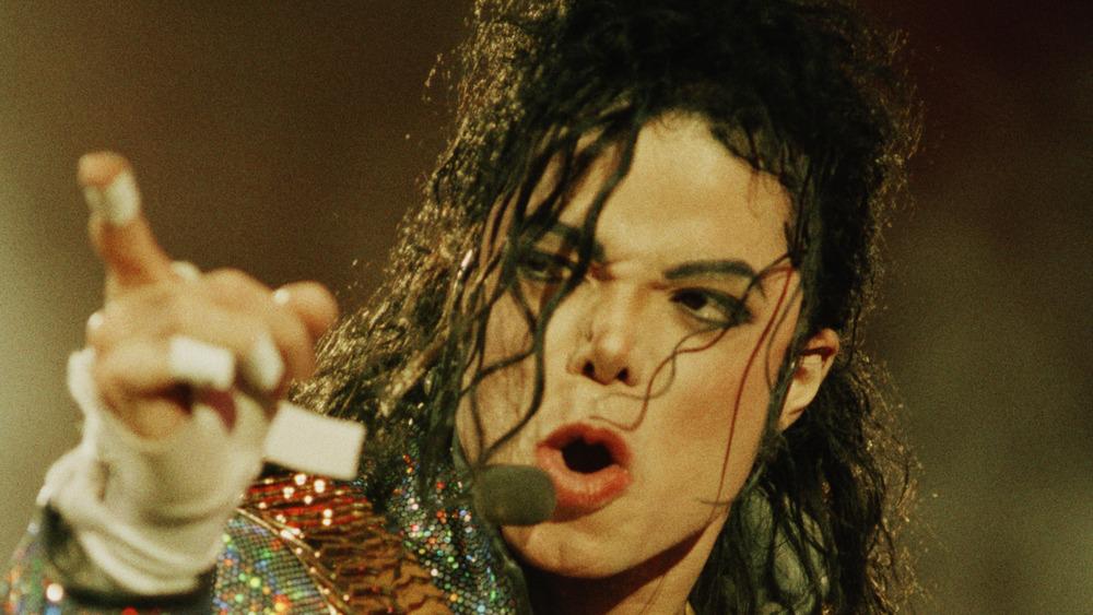 Actuación de Michael Jackson