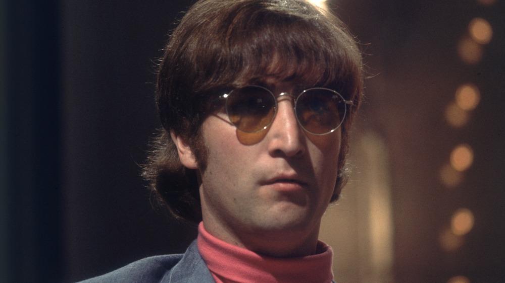 Camisa rosa John Lennon