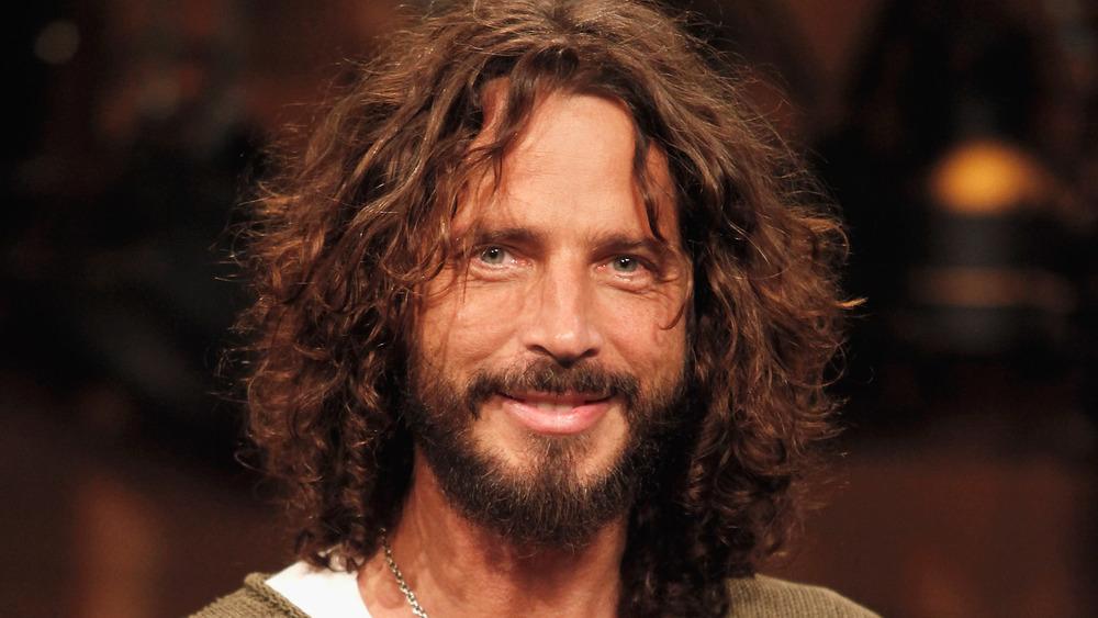 Chris Cornell sonriendo