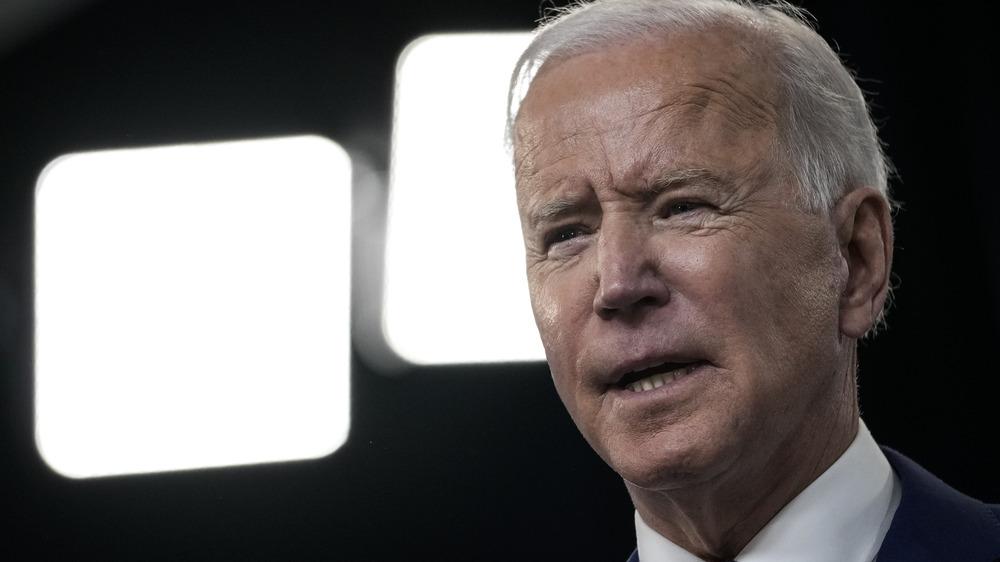 Joe Biden hablando