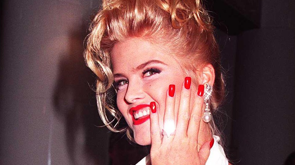 Anillo de bodas intermitente de Anna Nicole Smith
