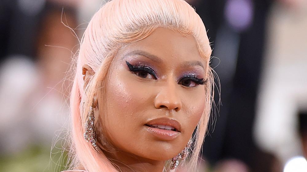 Nicki Minaj en un evento