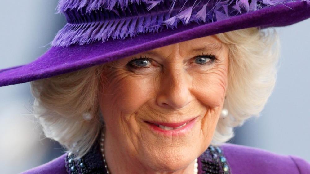 Camilla, duquesa de Cornwall, asiste al servicio del Día de la Commonwealth en la Abadía de Westminster el 13 de marzo de 2017