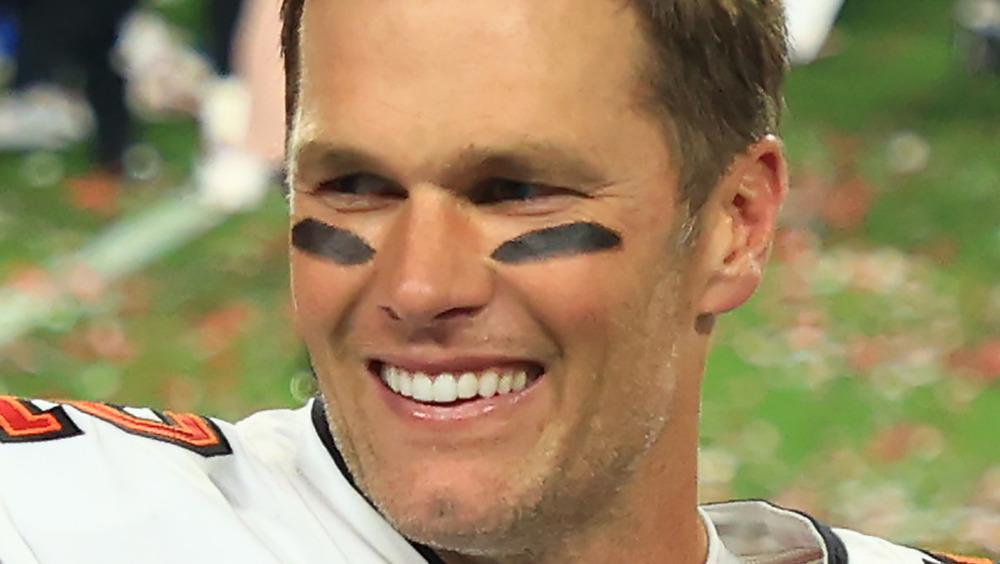 Sonrisa de Tom Brady