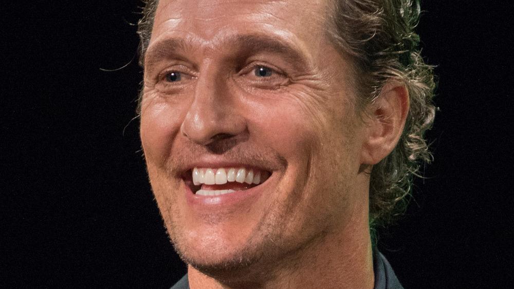 Matthew McConaughey en el escenario